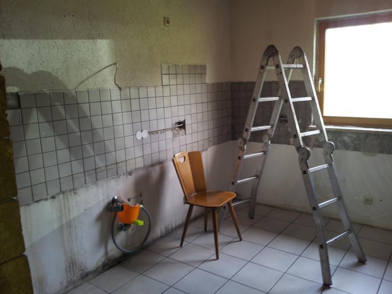 Küchenrenovierung  Küchenrenovierung - TC Müschenbach
